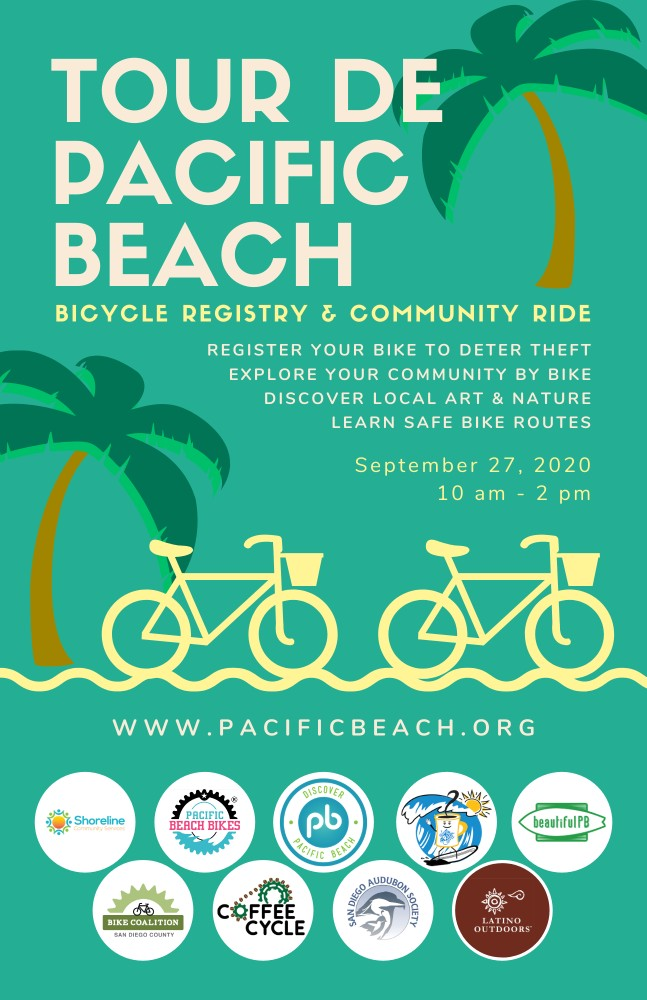 Tour de Pacific Beach Poster